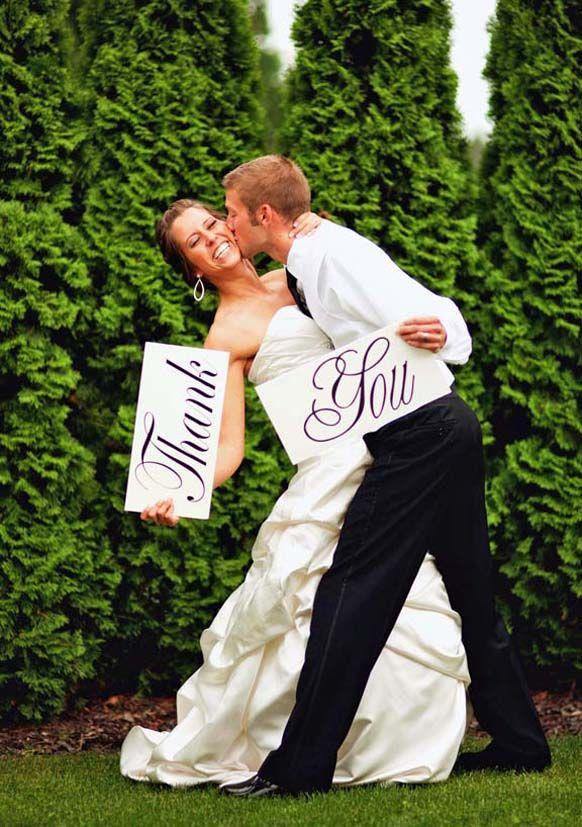 Thank you Wedding Sign Ideas - Weddings Romantique