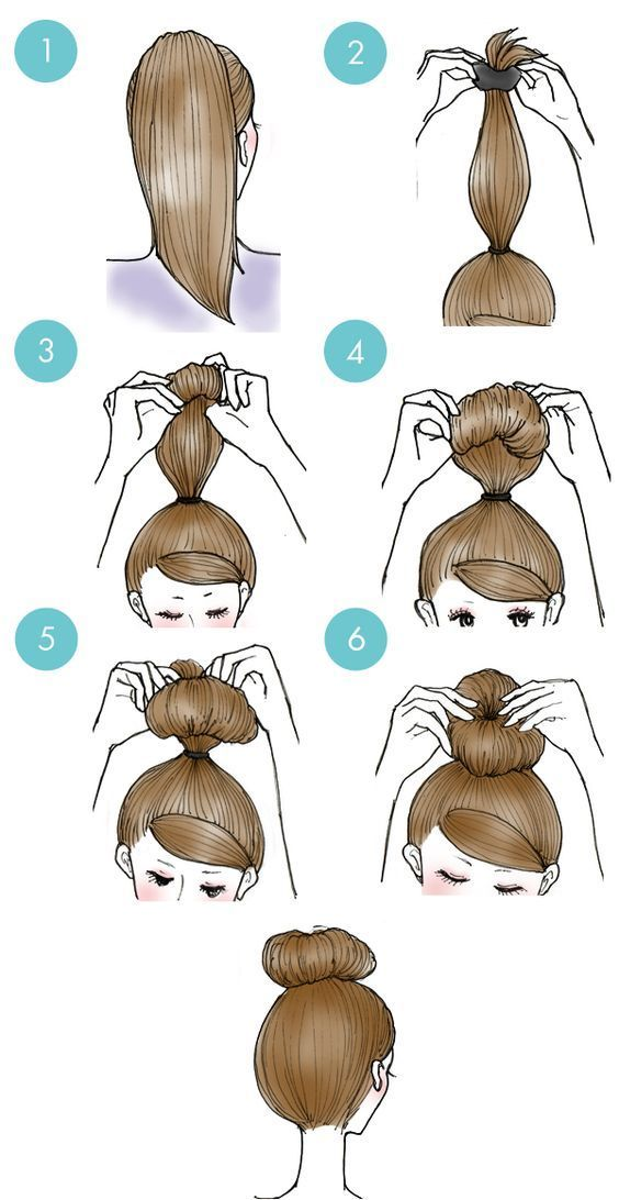 Simple daily hairstyles step by step for girls