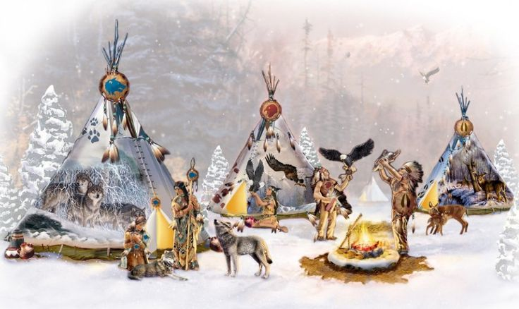 Sacred Spirits Native American-Inspired Village Collection
