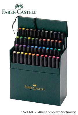 faber castell pitt artist pen brush ♥