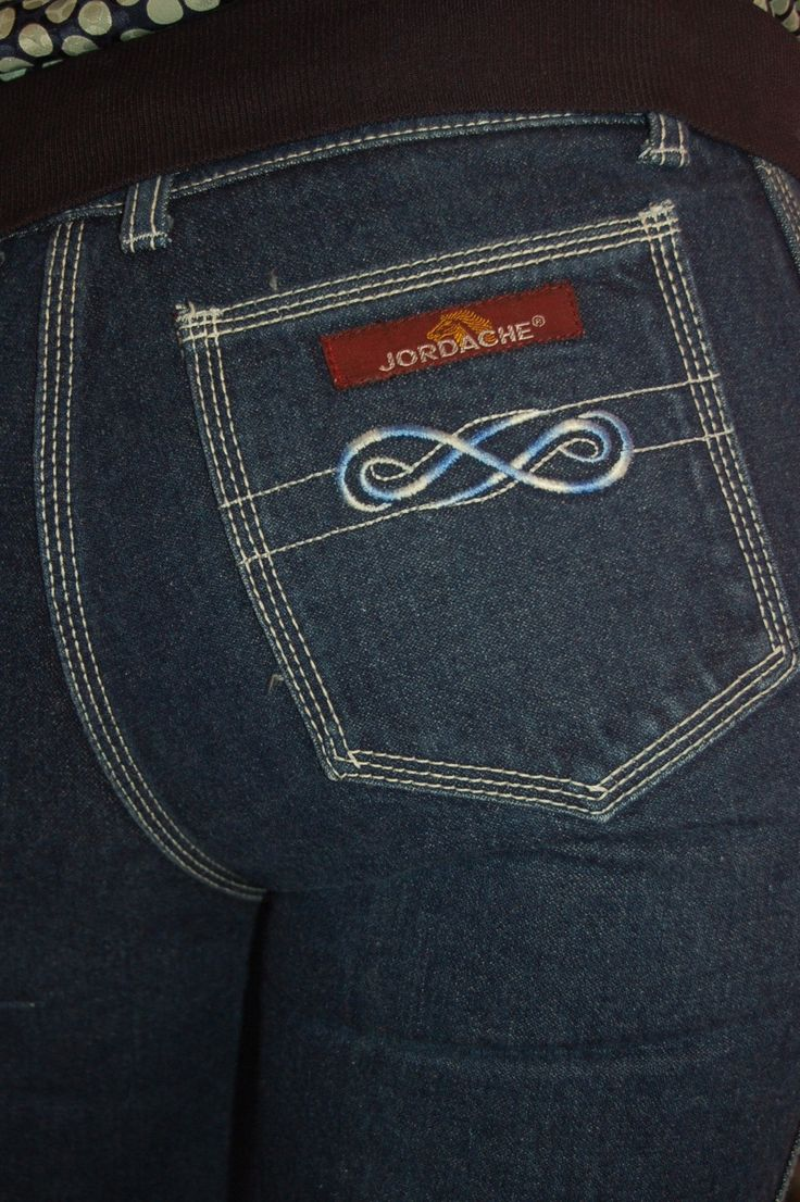 Jordache craze..  My Jordache jeans had a starburst design.  Loved them.  I was thrilled my Mom bought them for me.