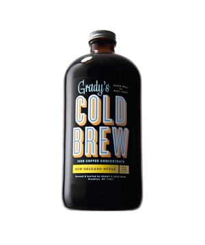 Grady's Cold Brew of our Grady's Manhattan 'scream coldbrew coffee icecream