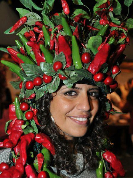 Feast of Chilli of Diamante ( Calabria), Italy