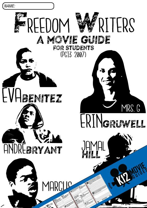 freedom writers characters Ms gruwell ms gruwell is an english teacher at wilson high school in long beach, california while most of her students come from low-income backgrounds and live in.