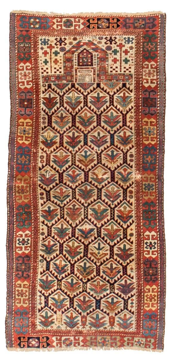 Caucasian Antique Rugs Number 17307, Antique Russian and Caucasian | Woven Accents