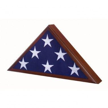 Star Legacy Veteran Flag Case / Urn in Walnut - SPA-10-W