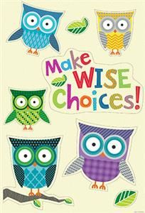 Can use this quote above my behavior chart. Need to make a owl themed behavior chart now!