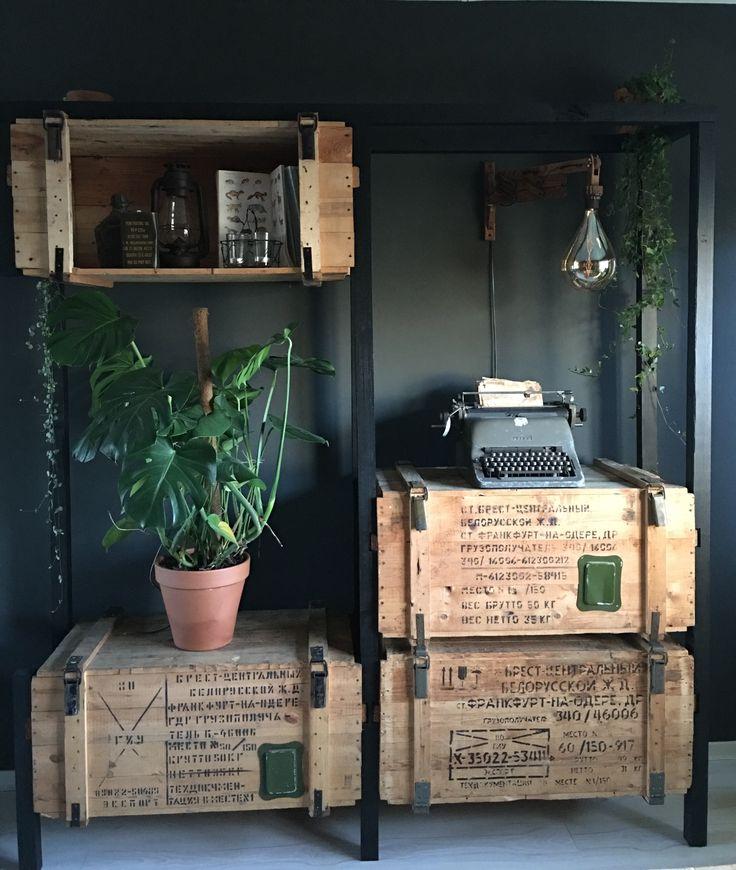 25 beste ideen over Industrile woonkamers op Pinterest
