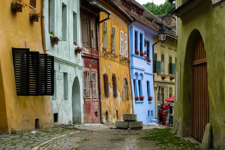 UNESCO. Historic Centre of Sighişoara - Medieval street by Dan Tivadar on 500px A medieval street from Sighisoara city. www.romaniasfriends.com