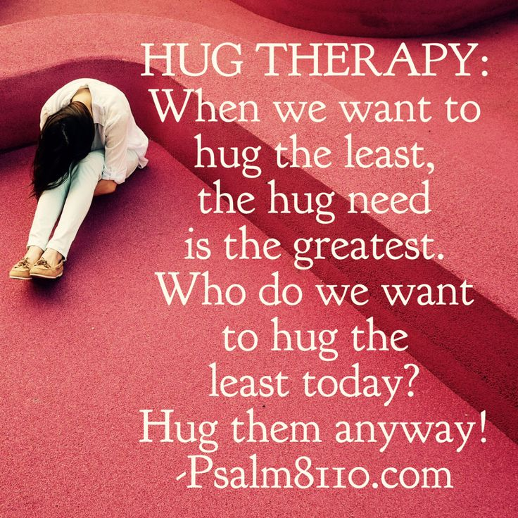 When our kids were little, we used a conflict resolution technique called, Hug Therapy! I am pretty sure I made up the name but not completely, so google it if you want. When my kids were acting li…