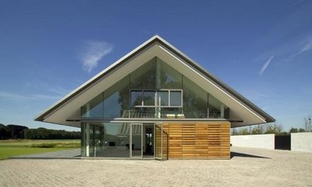 Modern Buro Land Of Strakke Kap Met Overstek Schuurwoningen Pinterest Best Prefab And Architecture Ideas
