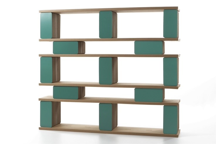 ARTEMISI bookcase by Kubedesign