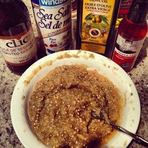 ... bubbie's smoky (inadvertently vegan) eggplant dip | Sweet Health Nut