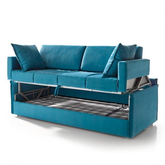 17 mejores ideas sobre literas plegables en pinterest - Sofa cama litera ...