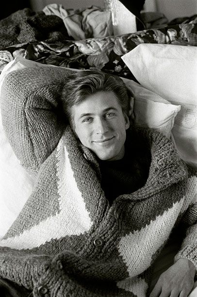 What is this witchcraft?! Young Alec Baldwin looking like Ryan Gosling (only better!)