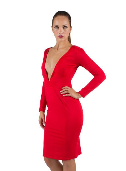 BODYCON BACKLESS DRESS