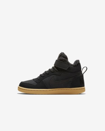 best sneakers b78a0 b0be6 NikeCourt Borough Mid Winter Younger Kids  Shoe
