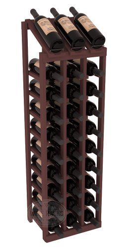 Special Offers - Wine Racks America 3 Column Display Wine Rack in Ponderosa Pine. 13 Gorgeous Stains to Choose From! Capacity: 30 Bottles - In stock & Free Shipping. You can save more money! Check It (May 01 2016 at 01:18PM) >> http://uniquewineglass.net/wine-racks-america-3-column-display-wine-rack-in-ponderosa-pine-13-gorgeous-stains-to-choose-from-capacity-30-bottles/