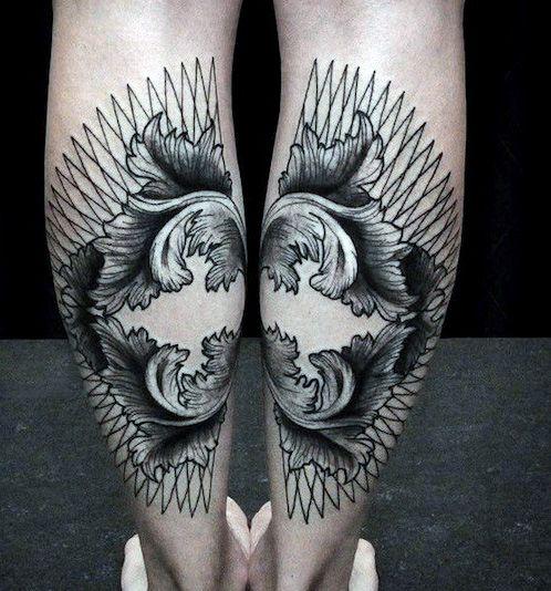 Men's Leg Tattoo Designs