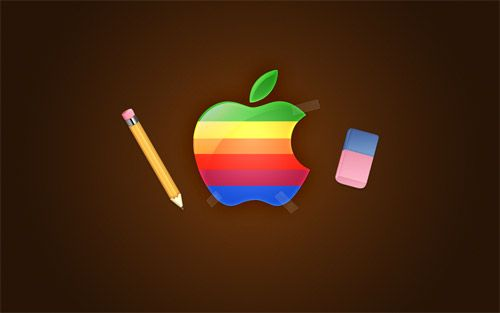 17 AWESOME FREE APPLE BACKGROUNDS   http://www.wordpressfamily.com/17-awesome-free-apple-backgrounds/