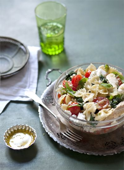 Trikolór saláta