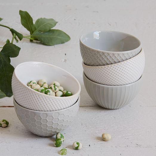 Textured Dip Bowls