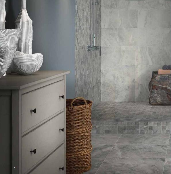 Edilcuoghi | Antigua #collection #new #edilcuoghi #stone #shower #flowers #light #sun #windows #tile #design #bath #bathroom #architecture