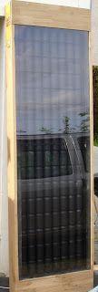 Je vous présente aujourd'hui mon œuvre préférée.C'est un capteur solaire thermique à air.         Je me suis inspiré d'américains qui réal...