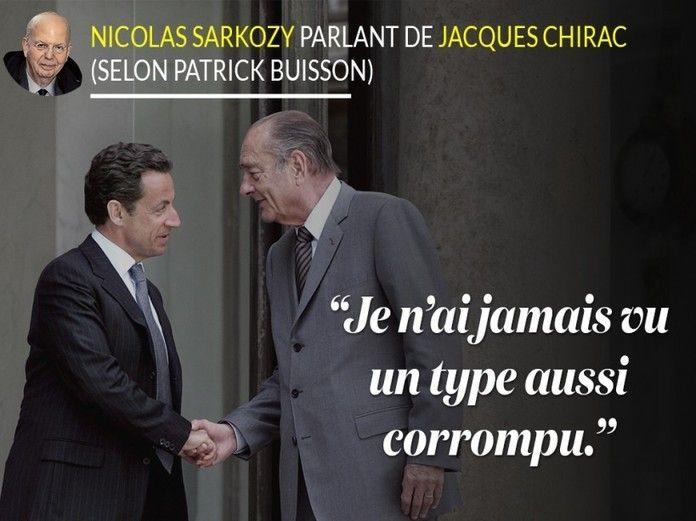 """"""" Les missiles de Patrick Buisson contre Nicolas Sarkozy"""" où l'OBS Photo use du bon vieux diaporama"""