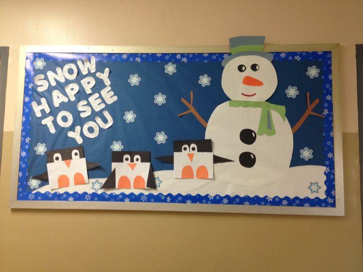Classroom Ideas For January ~ Best ideas about winter bulletin boards on pinterest