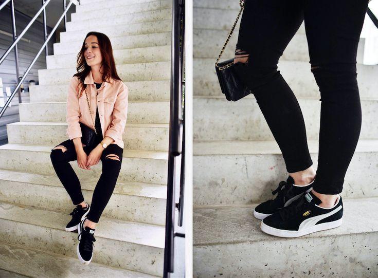 Jennie From The Blog - Puma Classic