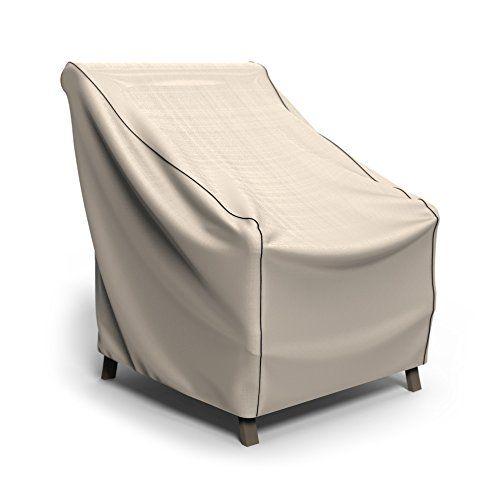 Budge English Garden Patio Chair Cover Medium (Tan Tweed)