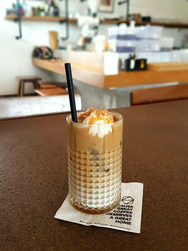 """Ice Creamy Latte"", Simetri Coffee Roasters, Jakarta"