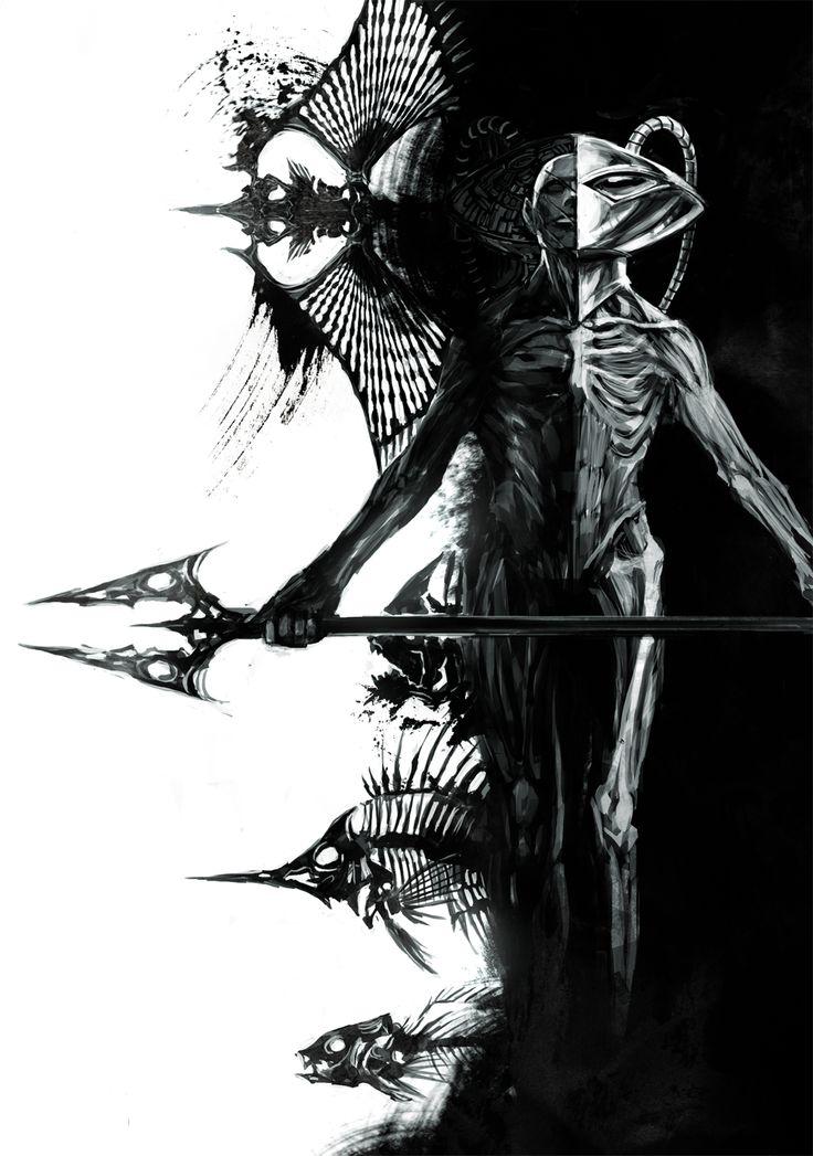 Black Manta by Naratani