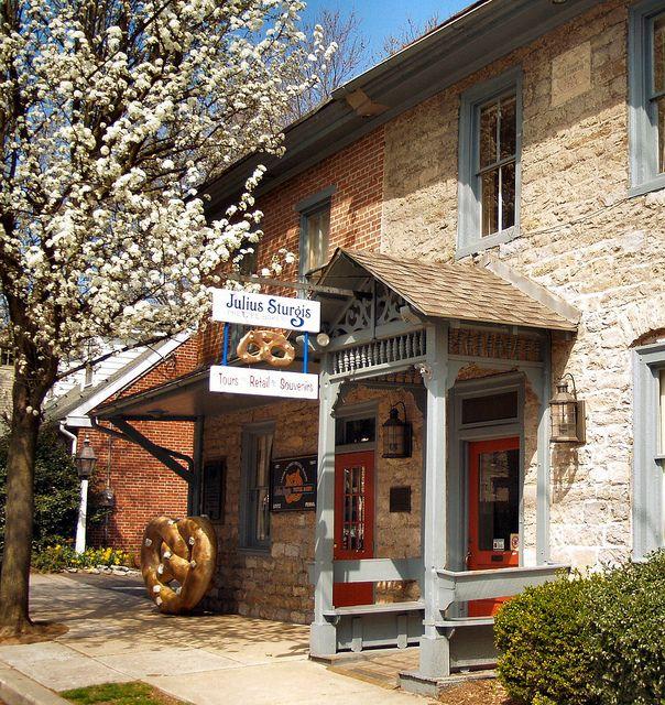 Julius Sturgis Pretzel Bakery - Lititz, PA by fundraz34, via Flickr