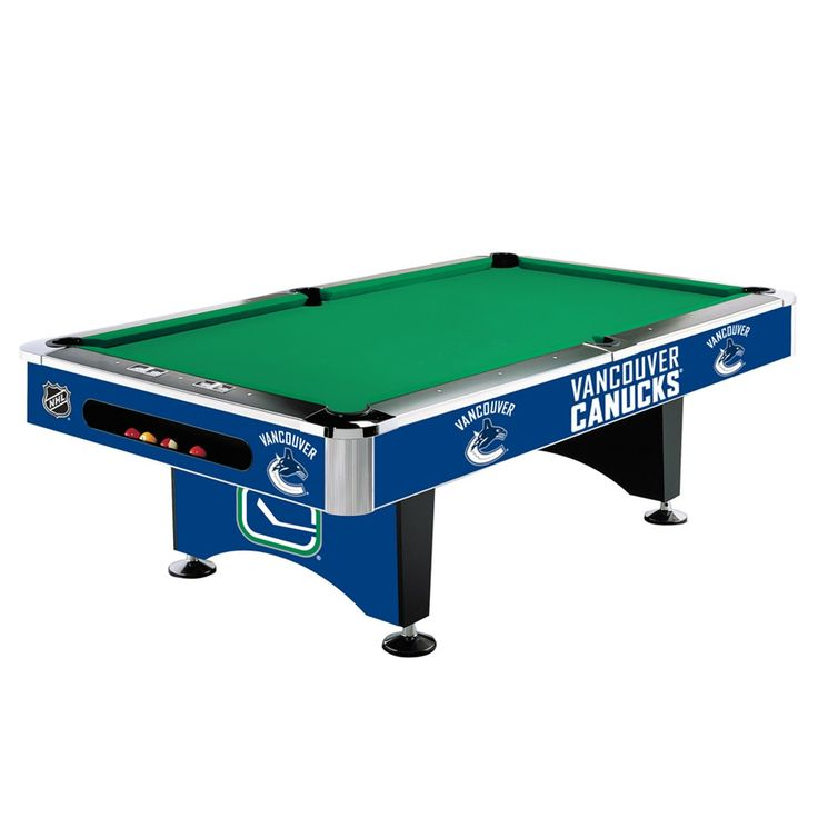 Vancouver Canucks 8Ft Pool Table By Imperial