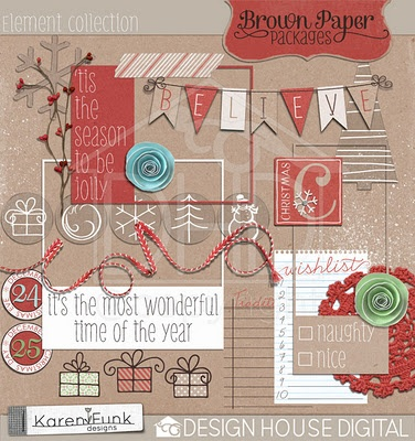 cute digital scrapbooking.: Scrapbook Ideas, Photo Collage, Design House, Cards Scrapbook, Digital Scrapbook, Genealogy Scrapbook, Red Christmas, Christmas Scrap, Brown Paper Packaging