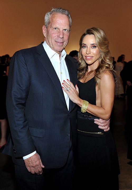 Katia Francesconi and Steve Tisch