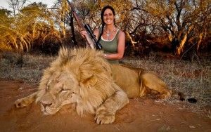 Some Thoughts on Melissa Bachman and Lion Hunting from Gary L. Francione, Professor, Rutgers University.People are angry that Bachman killed the lion unnecessarily. She killed the lion because she enjoys killing animals. We kill and eat about 56 billion land animals not counting fish. There is no necessity; no compulsion. So how exactly does this distinguish those of us who consume animals from Bachman? Read the article - excellent points.