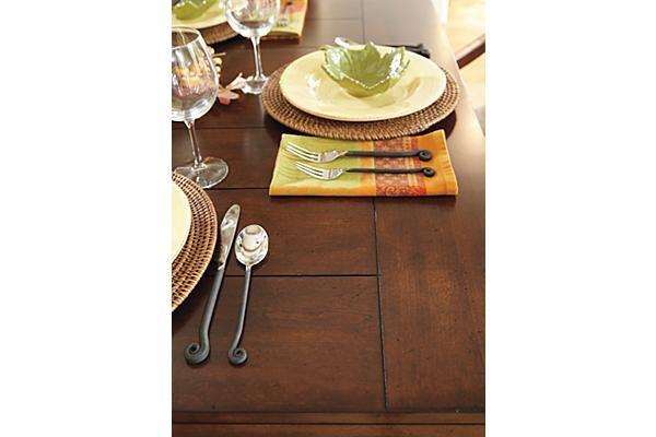 The Gaylon Extension Pedestal Dining Table from Ashley  : b3476f7d7287a9d32a0424b6a25c579d from www.pinterest.com size 600 x 400 jpeg 24kB