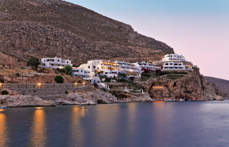 Experience Tilos island, Greece at the Ilidi Rock Suites, with breathtaking sunset views!