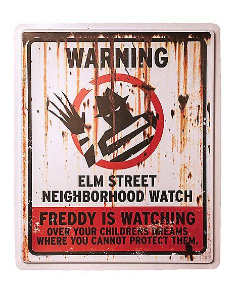 Elm St. Neighborhood Watch - Spirithalloween.com