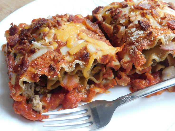Weight Watcher recipes, Bacon cheeseburger lasagna rolls by drizzle me skinny