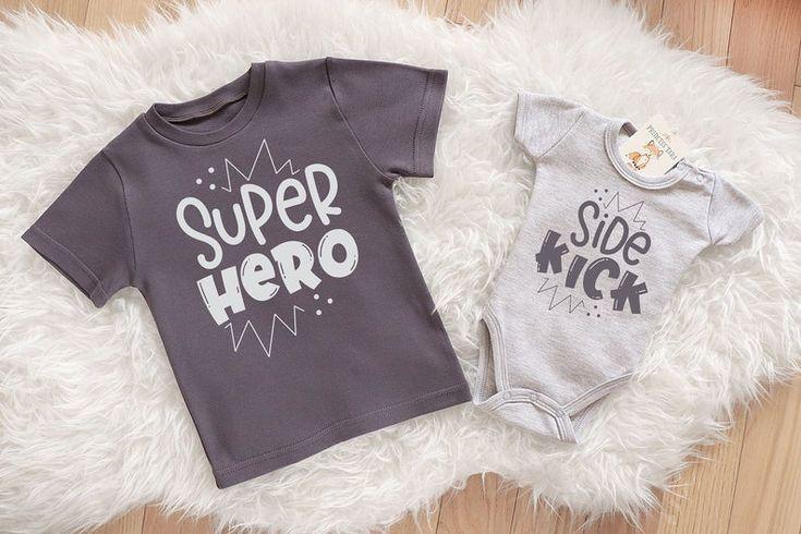 Superhero Shirt. Superhero Sidekick Set. Big Brother ...