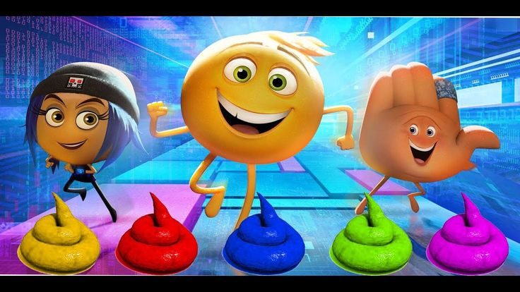 Learn Colors with Soccer Balls THE EMOJI MOVIE Toilet Poop JOHNY JOHNY Yes Papa FINGER FAMILY Song