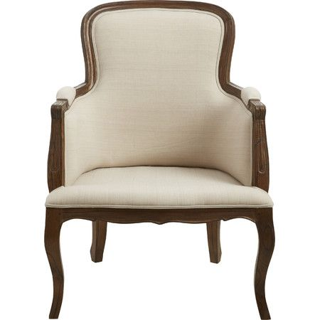 With its classic french country inspired design this for Cozy accent chair