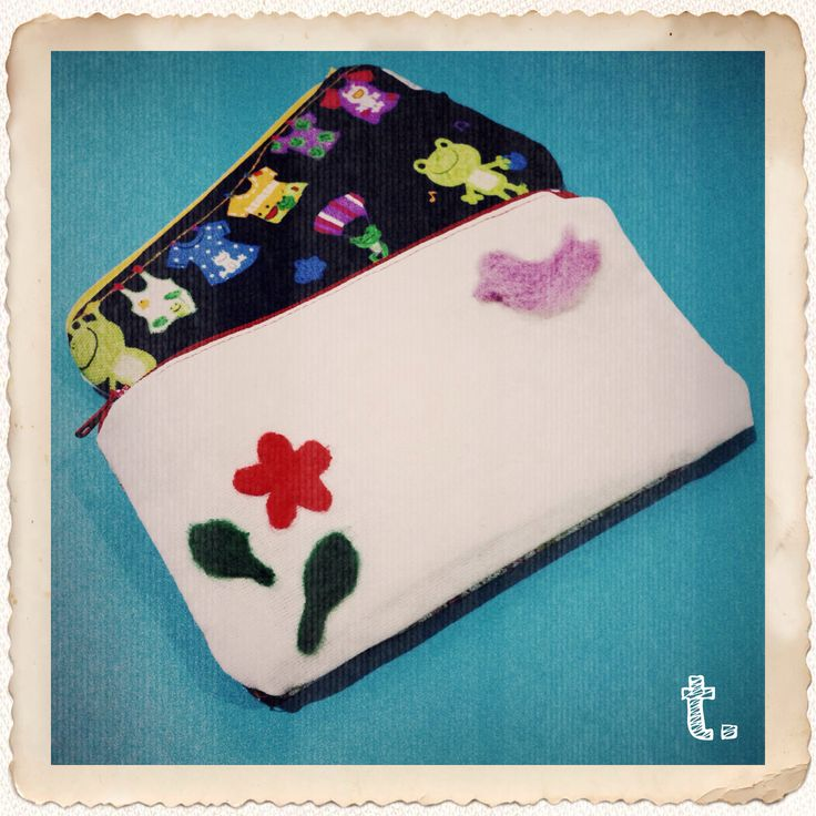 003 || Purple-tweet pouch || diy ++ pikkableu ++