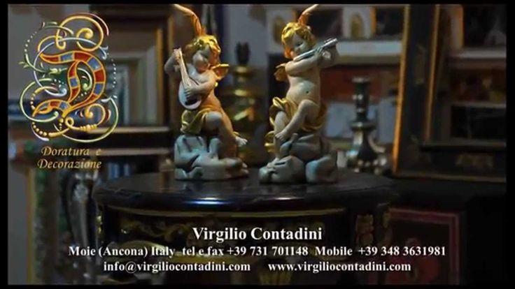 Virgilio Contadini. Doratura e Decorazione