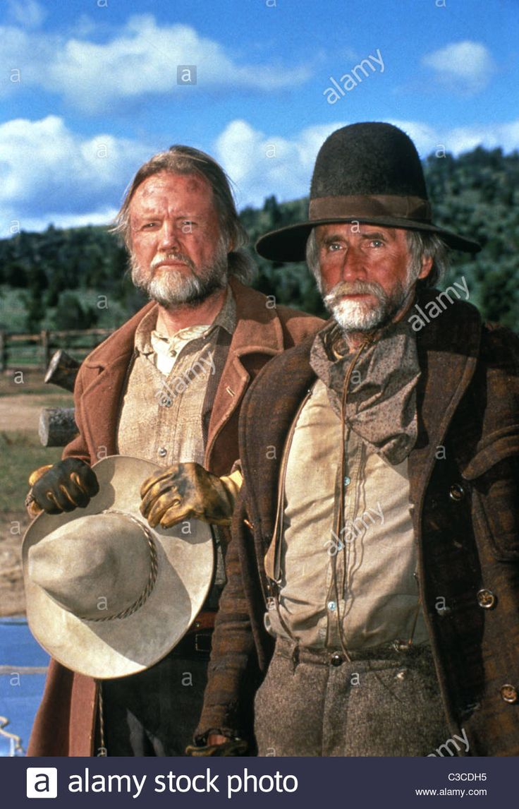 source: google.   Jon Voight  and  Tim Scott  ( Pea Eye ) in Return to Lonesome Dove.
