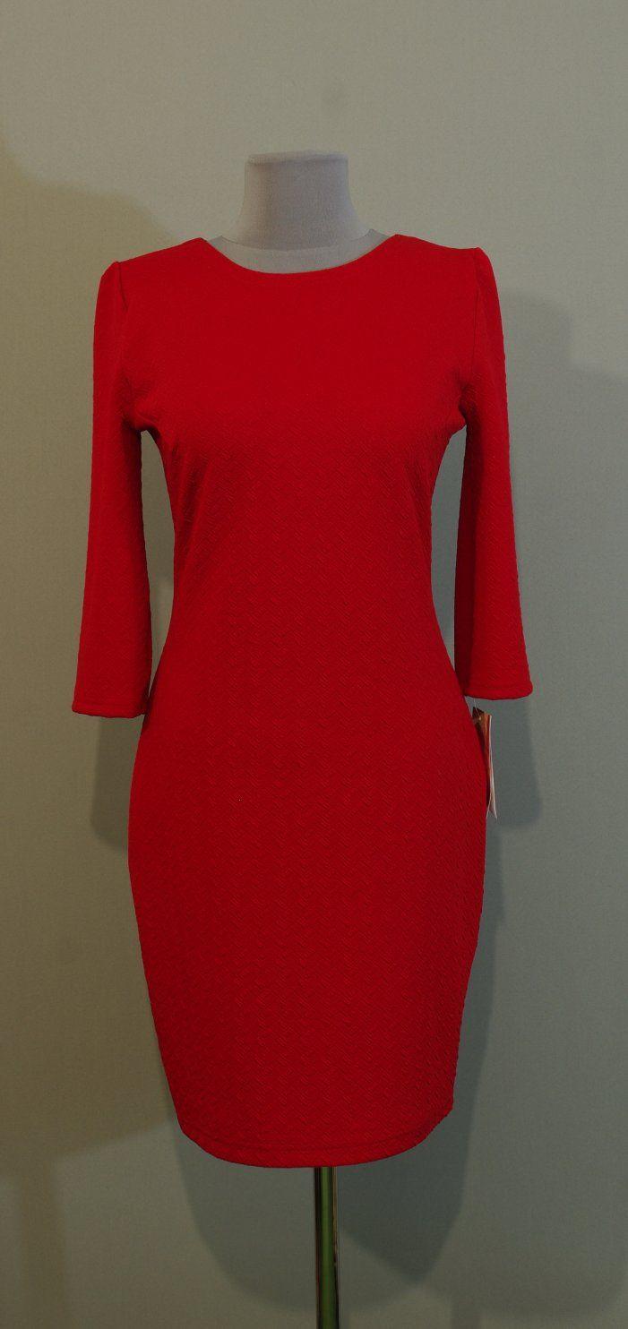 Красное мини платье-карандаш Украина купить интернет (142)